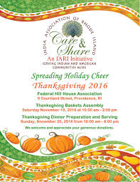 Friday After Thanksgiving Federal India Association Of Rhode Island Thanksgiving Dinner At Fhha