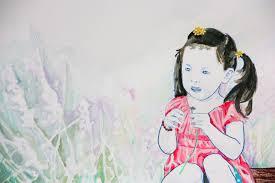 Color Of Earth by Vrij Werk Tekeningen Tabitha Sluis Beeldend Kunstenaar