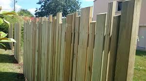 par vue de jardin ar paysage clôture design à rezé 44
