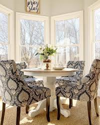 small round dinette table what i want for my kitchen a small round pedestal table with four