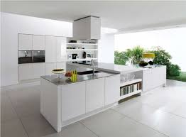 kitchen curve white modern kitchen island inspiration