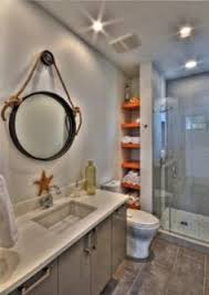 Tiny Bathroom Storage Ideas by Simple Small Bathroom With Built In Storage Unit And White Bath
