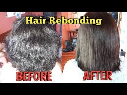 hair rebonding at home hair rebonding at home 3 youtube