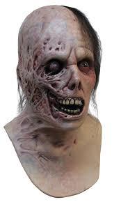 amazon com burnt horror latex mask clothing