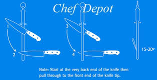 where can i get my kitchen knives sharpened knife sharpening and how to sharpen a knife correct way to