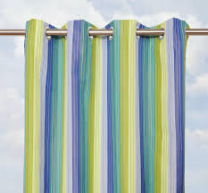 Sunbrella Outdoor Curtain Panels by Contemporary Outdoor Patio Design With Sunbrella Bay View Seaside