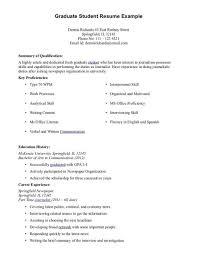 Graduate Application Resume Grad Resume Sample Resume Samples And Resume Help