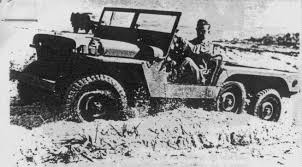 jeep hellcat 6x6 the 6x6 willys mb these were fitted with the