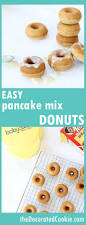 pancake mix donuts in the babycakes donutmaker donuts donut