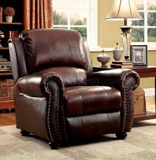 sofa cm6191 in brown leather match w recliners u0026 options