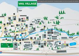 Vail Map Entertainment Time October 2011