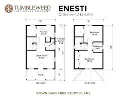 746 sq ft tumbleweed enesti cottage tiny houses cabins