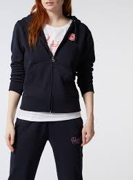 womens online exclusive russell athletic zip through hoodie tu