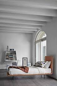thin single bed by bonaldo design giuseppe viganò