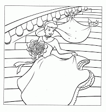 free printable cinderella coloring pages for kid many interesting
