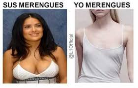 Salma Hayek Meme - dopl3r com memes sus merengues vs yo merengues explicado con