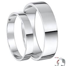 Wedding Ring Sets For Him And Her White Gold by His U0026 Hers White Gold Wedding Rings Matching Sets For Groom And Bride