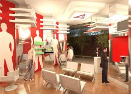 Home Salon Decorating Ideas Barber Shop Design Layout Beauty Salon Interior Design Ideas Hair