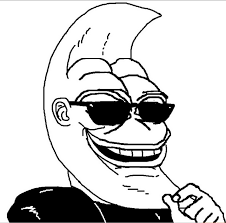 Smug Meme Face - smug moon moon man know your meme