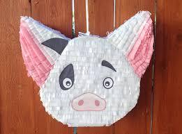 themed pinata pua pig piñata moana themed piñata moana birthday
