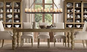 Chic Dining Room Dining Table 6 Chairs 11 Rustic Chic Dining Room