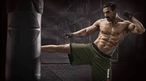 force 2 john abraham workout at his personal gym youtube
