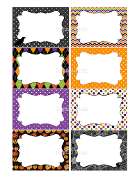 halloween printable labels cards or tags for journaling gifts