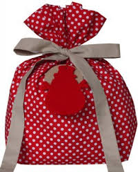 cloth gift bags frugal gift wrapping ideas the happy frugal living