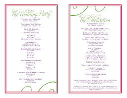christian wedding program templates 27 images of downloadable program template wedding reception