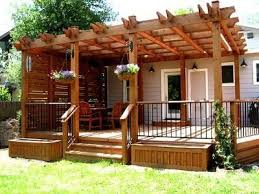 Deck With Pergola by Pergola Over Deck For The Home Pinterest Pergolas Decking