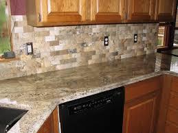 kitchen with tile backsplash tiles backsplash kitchen decorating using light brown stone tile