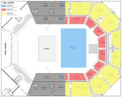 ticketmaster floor plan the 1975 at bb u0026t arena