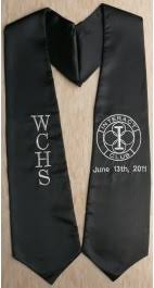 custom graduation sashes graduation stoles sashes as low as 3 99 high quality low