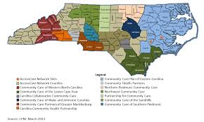 map of county ccnc ccnc network to nc county maps