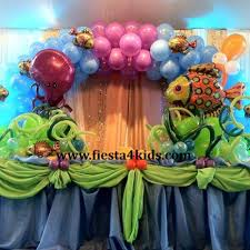 Table Decorating Balloons Ideas 32 Best Vbs Under The Sea Images On Pinterest Balloon