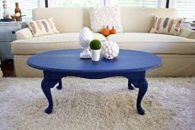 chalk paint coffee table coffee table makeover in napoleonic blue chalk paint 2 bees in a pod