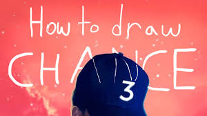 Youtube Red Color How To Draw Chance The Rapper U0027s