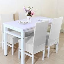 white spandex chair covers unique bargains white spandex stretch washable dining chair cover