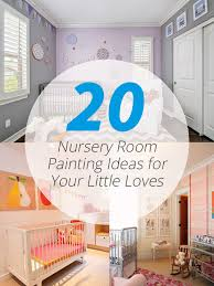 20 nursery room painting ideas for your little loves home design