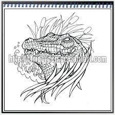 tattoo design 027 alligator by striderden on deviantart