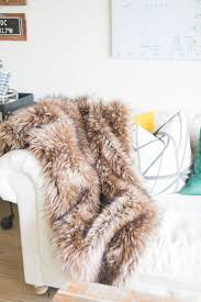 Pottery Barn Fur Blanket 27 Best Faux Images On Pinterest Faux Fur Blanket Faux Fur