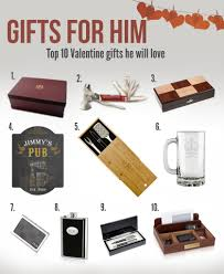 top ten gifts for him memorable gifts