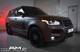 matte white range rover range rover brown matte car wrapping auto am ge