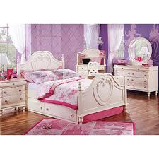 Disney Princess Pearl  Pc Full Panel Bedroom  Rooms To Go - Rooms to go kids bedroom