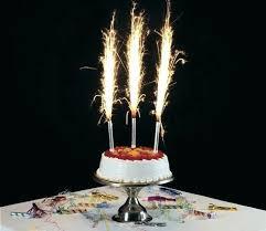 sparkler candles cake candles sparklers birthday tesco