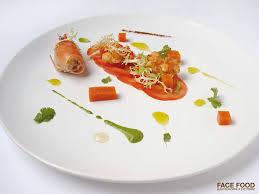 cuisiner des gambas recette facefood carpaccio de tomates gambas marinées et gaspacho