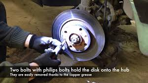 peugeot 305 front brake service youtube