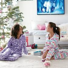 sweet dreams flannel pajama set pretty petals pbteen