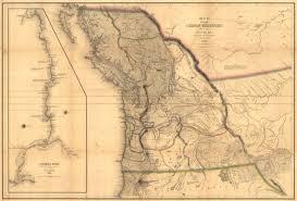 map ot historical map of oregon territory 1841