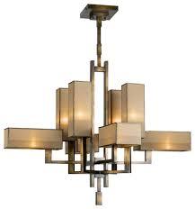 Contemporary Chandelier Fine Art Lamps Perspectives Chandelier 733840 Contemporary